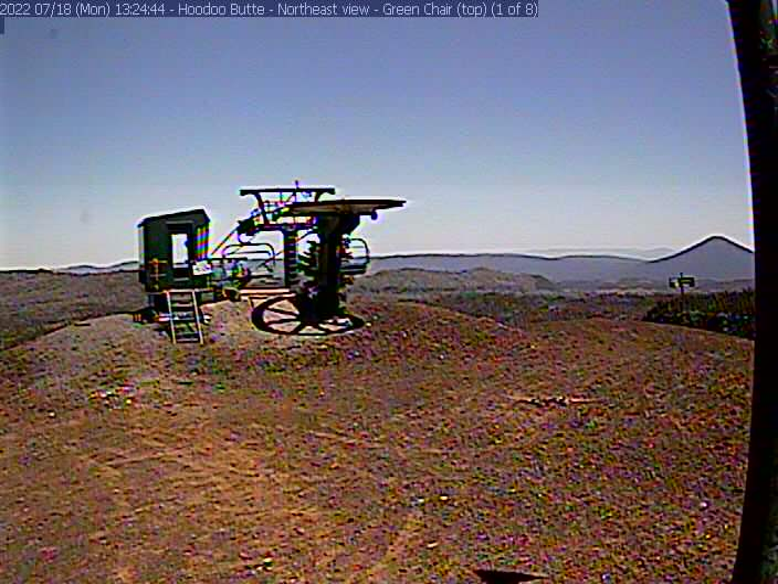 Hoodoo – Hoodoo Summit webcam image